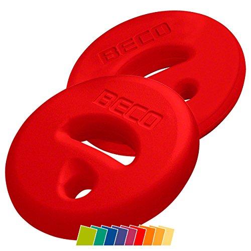 BECO AquaDisc SZ Aqua Training Trainingsscheiben Aqua Hanteln Paar rot