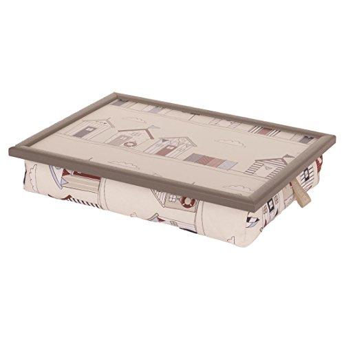Andrew´s Knietablett Laptray mit Kissen Tablett für Laptop Beachhut