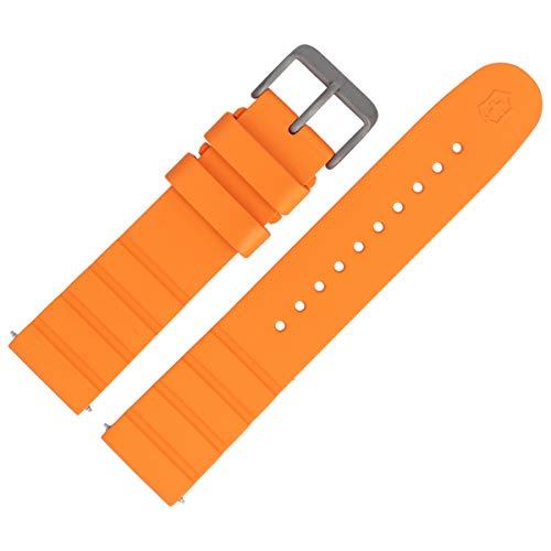 Victorinox Uhrenarmband 21mm Kunststoff Orange - 005429