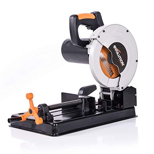 Evolution Power Tools RAGE4 7-1/4-Inch TCT Multipurpose Cutting Chop Saw