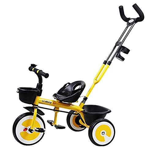 Buy Bargain Moolo Kids Trikes Children Tricycle Ride with Parent Handle Ultra-Lightweight Folding Pe...
