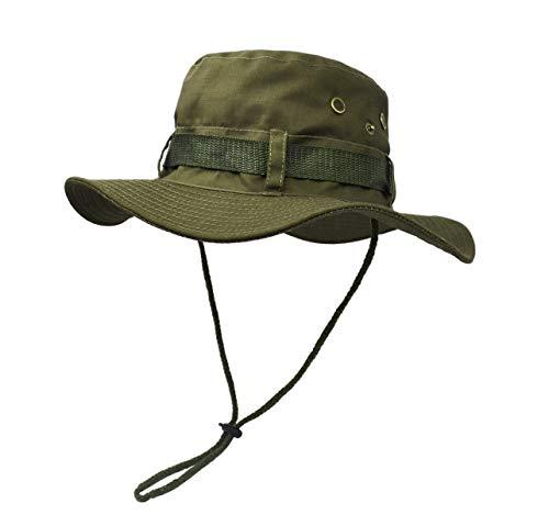 UltraKey Sonnenschutzhut mit breiter Krempe, doppelschichtig, klassischer US Kampfsport Stil Buschsch-Dschungel-Sonnenschutz für Angeln, Jagd, Camping
