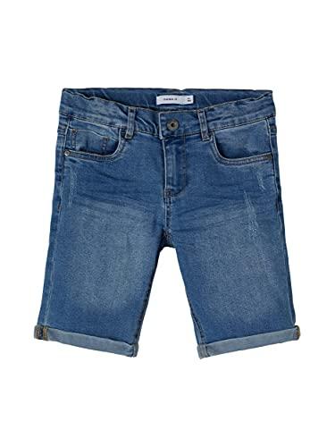NAME IT Boy Jeansshorts Slim Fit 140Light Blue Denim