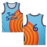 DIMOCHEN Movement Ropa Jerseys de Baloncesto para Hombres, 6 James, Fresco, cómodo, Camiseta Uniformes Deportivos Tops(Size:XXL,Color:G1)