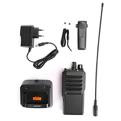 Qqmora Walkie Talkie Mini Duradero de Radio bidireccional Impermeable para Viajes