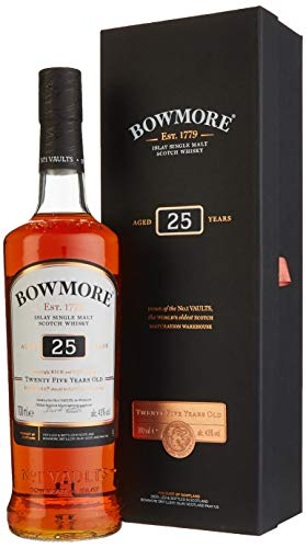 Bowmore Single Malt Scotch Whisky 25 Jahre (1 x 0.7 l)