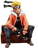 Huhu Naruto Shippuden Anime Modelo Uzumaki Naruto Gk Figura de acción Gangland Ver. Estatua sentada ...