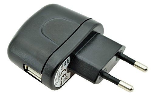 USB Ladegerät Lade Adapter Ladestecker Netzteil (1000 mA) für Technaxx Aqua TX-42 / Elegance TX-39 / Active TX-38 / Classic TX-37 / Smart Watch TX-26