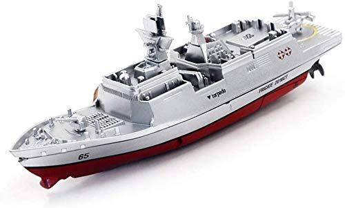 XHCP RC Flugzeugträger Boot, Mini Militärradio Fernbedienung Kriegsschiff Schlachtschiff Modell Elektrisches...
