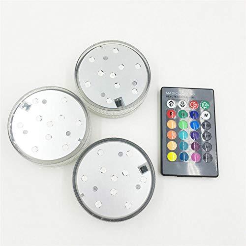 NiQiShangMao RGB Unterwasser Licht Teich IP68 wasserdichte Schwimmbadlampe für Hochzeitsfeier Beleuchtung mit Controller