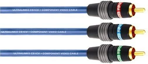Ultralink Cs1Cv-1M Contractor Series Component Video Cable (1 M)