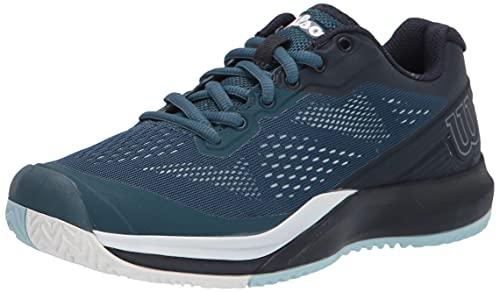 Wilson Women's Rush PRO 3.5 W Tennis Shoe, Majolica Blue/Outerspace/White, 8