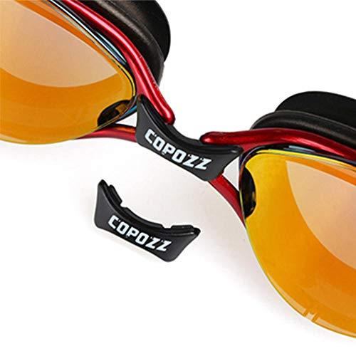 Zwembril, verzinkte versie, silicone, waterdicht en beslaat niet, oordopjes voor volwassenen, heren, dames en kinderen
