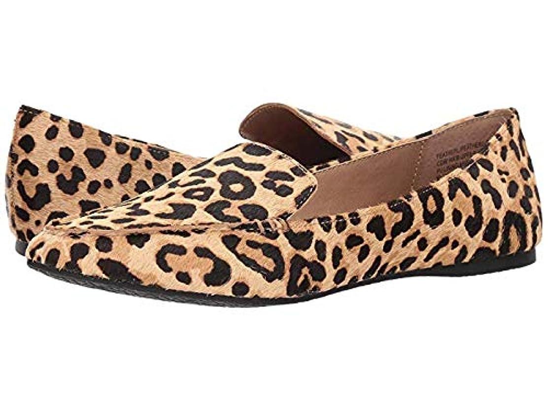 突っ込む憧れ政治レディースローファー?靴 Featherl Loafer Flat Leopard (24cm) M [並行輸入品]