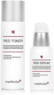 [Medicube メディキューブ] レッドライントナー(100ml)&セラム(50ml)セット/ Red Line Toner & Serum SET [並行輸入品]