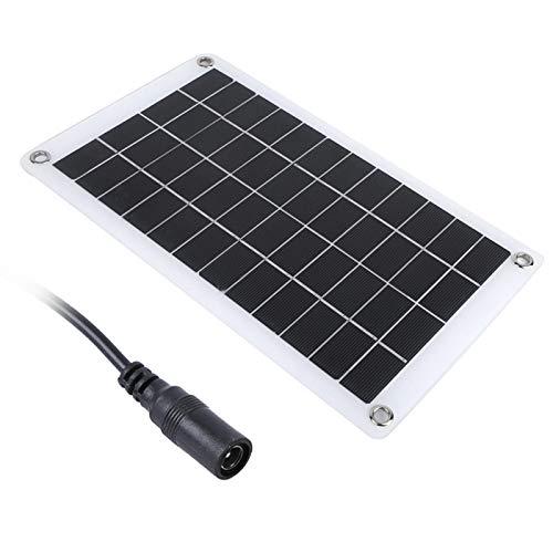 DAUERHAFT Panel de energía Solar de silicio monocristalino portátil Panel de Cargador Solar de 7.5W 12V para semáforos para Luces publicitarias para Ventiladores eléctricos para Luces del hogar