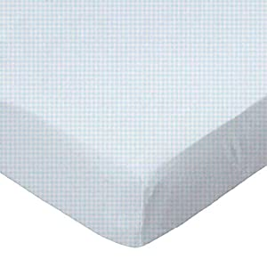SheetWorld Fitted Basket Sheet, Made in USA