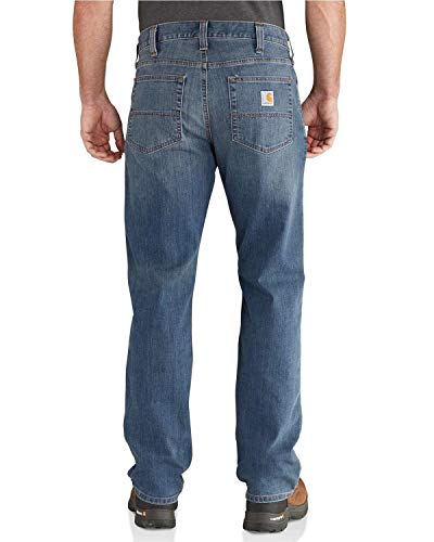 Carhartt Rugged Flex Relaxed Straight Jeans, Coldwater, W38/L34 Uomo