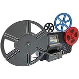 フィルムスキャナー Wolverine MMPRO 8mmフィルム シングル8、スーパー8、レギュラー8 フィルムデジタルコンバーター ムービーメーカープロ リールサイズは、3~9インチに対応 2.4インチLCD MP4 1080P 8mmフィルムをデジタル変換して保存