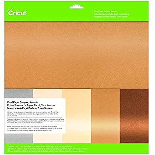 Cricut Pearl Paper, Neutrals