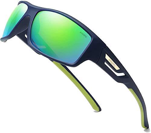 Skevic Gafas de Sol Hombre Mujer Polarizadas TR90 - Gafas Running, Gafas...