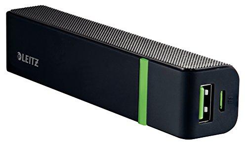 Leitz, Universal-Powerbank, 1 USB-Anschluss, 2600mAh, Complete, Schwarz, 63110095