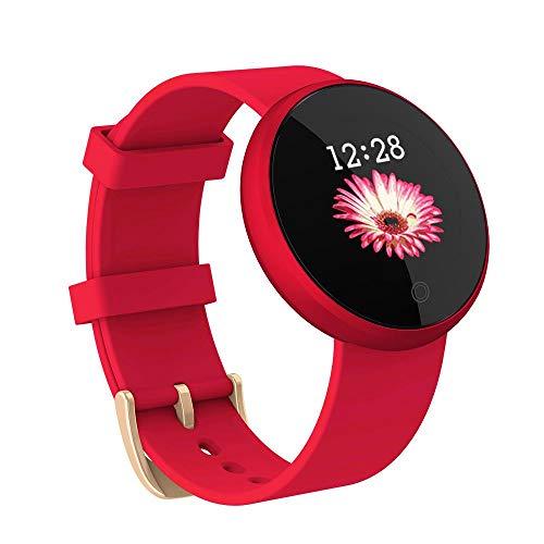 B36 Trend Sports Smart Watch Bracelet Female Pedometer Wechat Reminder Bluetooth Bracelet, red