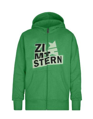 Zimtstern Jungen Hoody Zip ZHYB Pillar, Green, XXL, 7741571306507