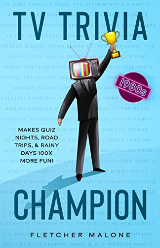 TV Trivia Champion 1980s: Makes Quiz Nights, Road Trips, & Rainy Days 100x More Fun!
