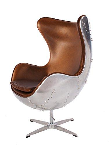 Hand-Hammered Aviator Aluminum Mid Century Modern Classic Arne Jacobsen Style...