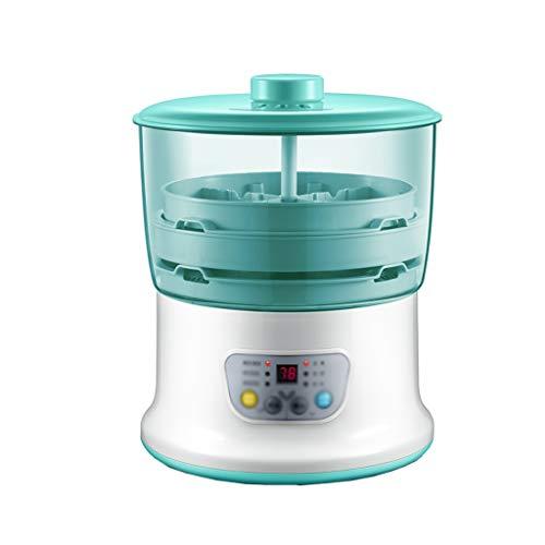 2 couches de germes de haricots Machine Automatique de germes de haricots Machine Multifonction Maison de germes de haricots Accessoires Machine Thermostat Vert Semences Outil de culture