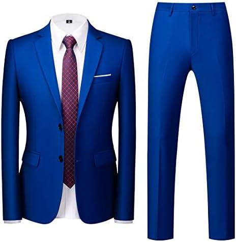 Royal blue suits mens _image2