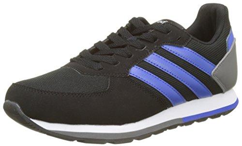 Adidas 8K K, Zapatillas de Deporte Unisex Adulto, Negro (Negbas/Azalre/Gricua 000), 38 2/3 EU
