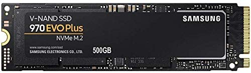 Samsung MZ-V7S500BW 970 EVO Plus 500 GB NVMe M.2 Interne SSD Schwarz