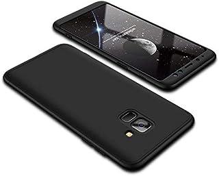 """Kit Capa Capinha Anti Impacto 360 Full Para Samsung Galaxy A8 Com Tela 5.6"""" Polegadas - Case Acrílica Fosca Com Película D..."""