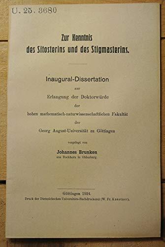 Zur Kenntnis des Silosterins und des Stigmasterins.