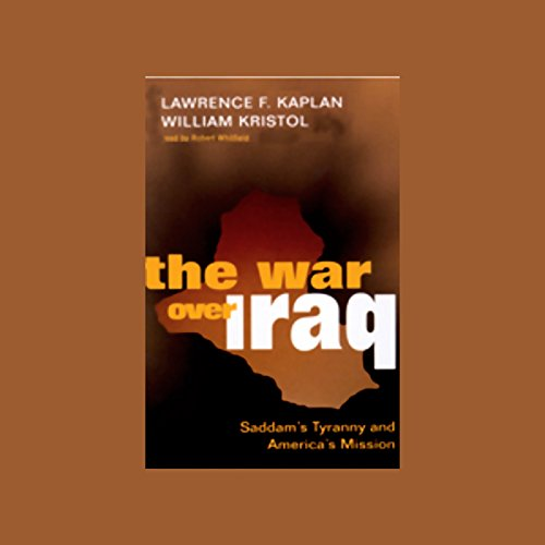 The War Over Iraq audiobook cover art