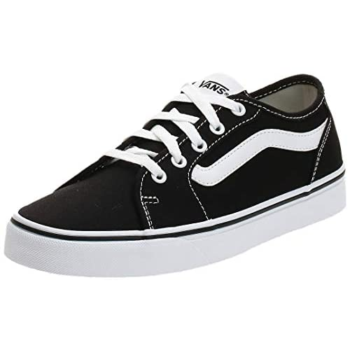 Vans Filmore Decon, Sneaker Donna, Nero ((Canvas) Black/True White 1wx), 38 EU