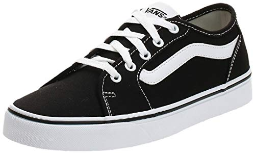 Vans Filmore Decon, Sneaker Mujer, Negro (Black/True White 1wx), 38 EU