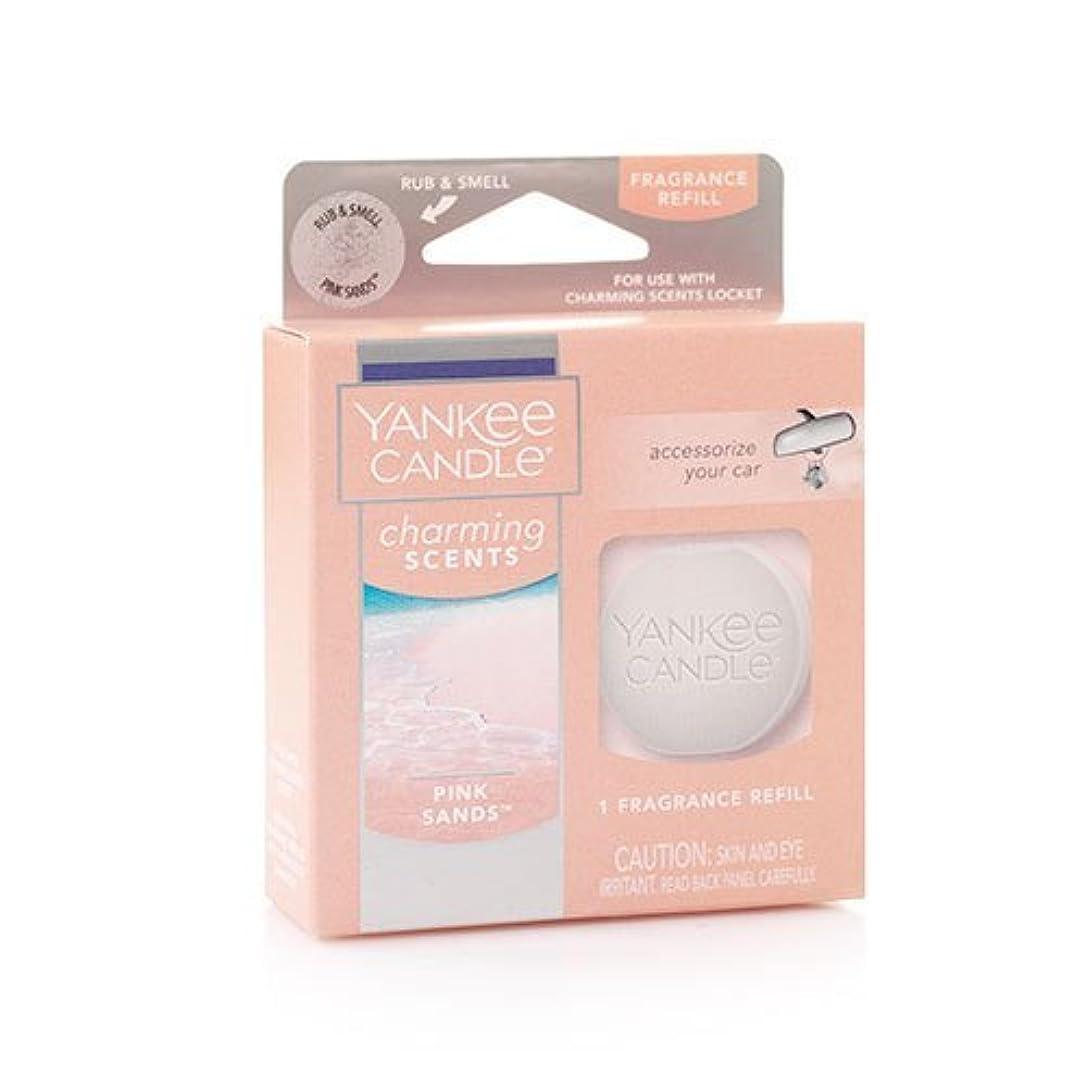 災害ジャンク鷹YANKEE CANDLE (ヤンキーキャンドル) ピンク サンド チャーミングセント フレグランス レフィル フレッシュな香り
