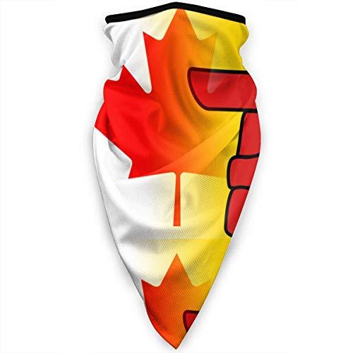 Mathillda Flag of Nunavut Kanada gezichtsmasker, halsdoek, bivakmuts, muts, multifunctioneel, XE-X71