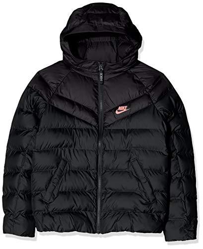 Nike Kinder B NSW Jacket Filled Sport, Black/pink Gaze, XS