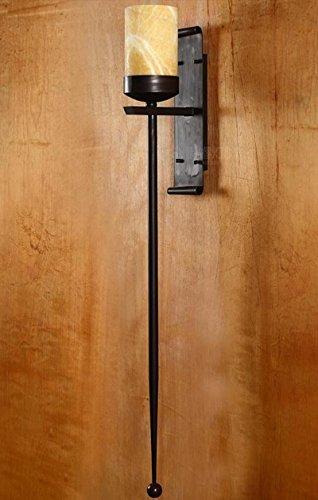 ZWL Rétro Creative Iron Applique Murale Imitation Marble Applique Murale Salon Fond Mur Long Tail Lights Hotel Aisle Big Wall Lamp Single Head E27, 14 * 125CM Mode (Couleur : #1)