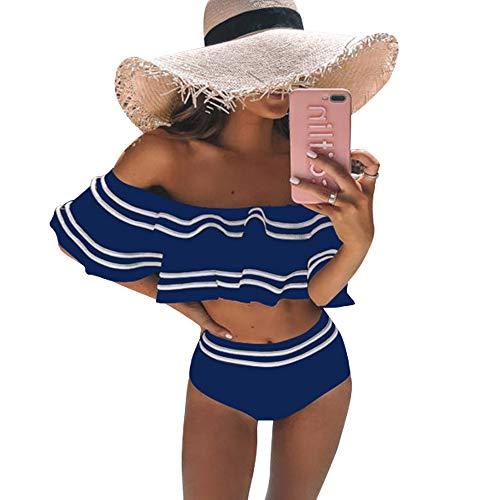 Dehots Sexy Mujer Bikini Push Up Set Badeanzüge Bikinis para mujeres adolescentes niñas bandeau deporte