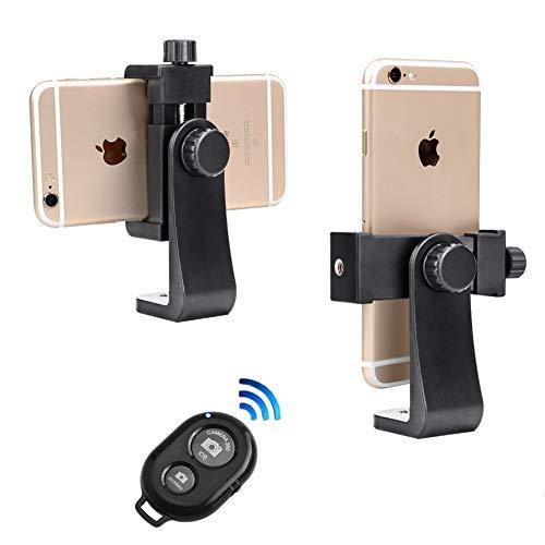 Adaptateur trépied Smartphone Support +télécommande de Telephone Dernièrre Génération pour Emission en Direct, s'adapte à l'iPhone, à Samsung, et à Tous Les téléphones