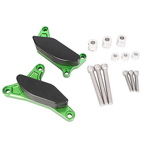 Three T Cubierta lateral para el estador del motor de la motocicleta, protección contra caídas, marco deslizante, para FZ8 2012