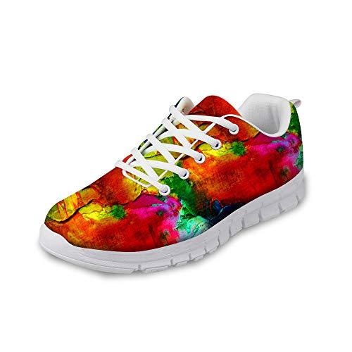 MODEGA Turnschuhe Kunst Sportschuhe Schuhe Herren Schuh Männer Laufen Bowlingschuhe Männer Größe 42 EU |7.5 UK