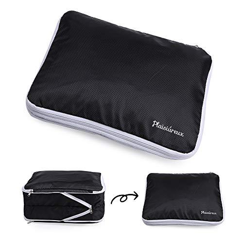 Plaisiureux 圧縮袋 圧縮バッグ 便利グッズ トラベルポーチ 旅行 防水 バッグ 収納