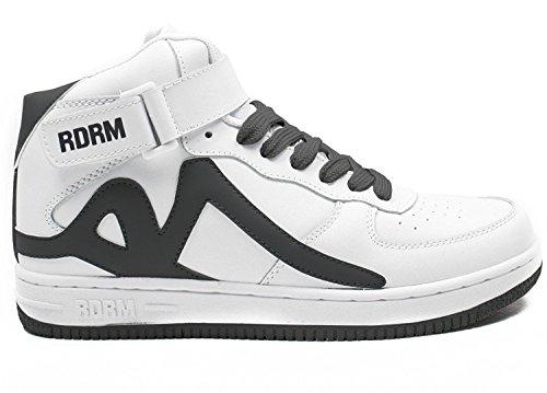 REDRUM Zapatillas deportivas para hombre de baloncesto Forza High Top, color Negro, talla 38 EU