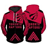 JUQI Sudadera de baloncesto Toronto Raptors 2021, edición conmemorativa de la moda, sudadera de manga larga, camiseta deportiva (S-5XLL) XL